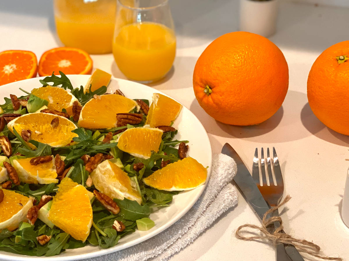 Arugula Orange Salad