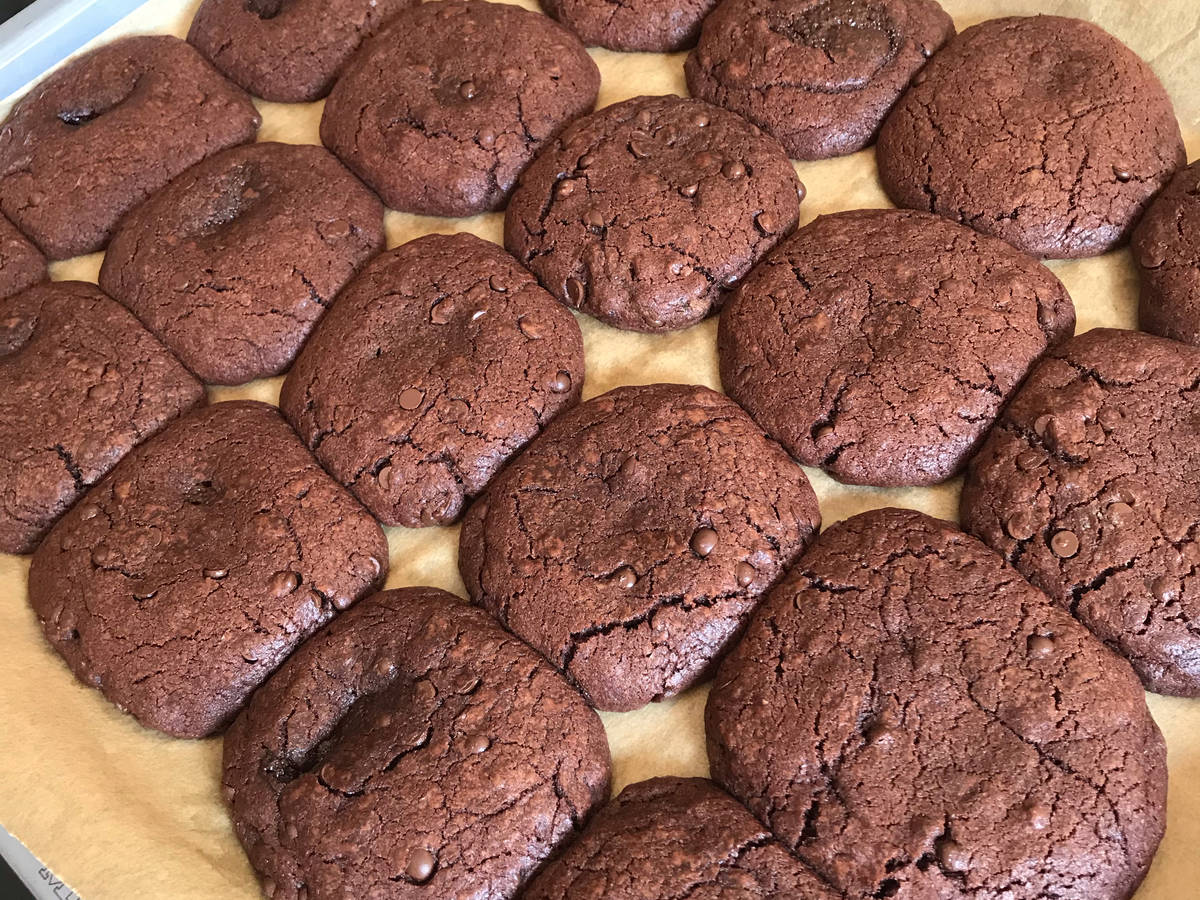 The best all-chocolate cookies