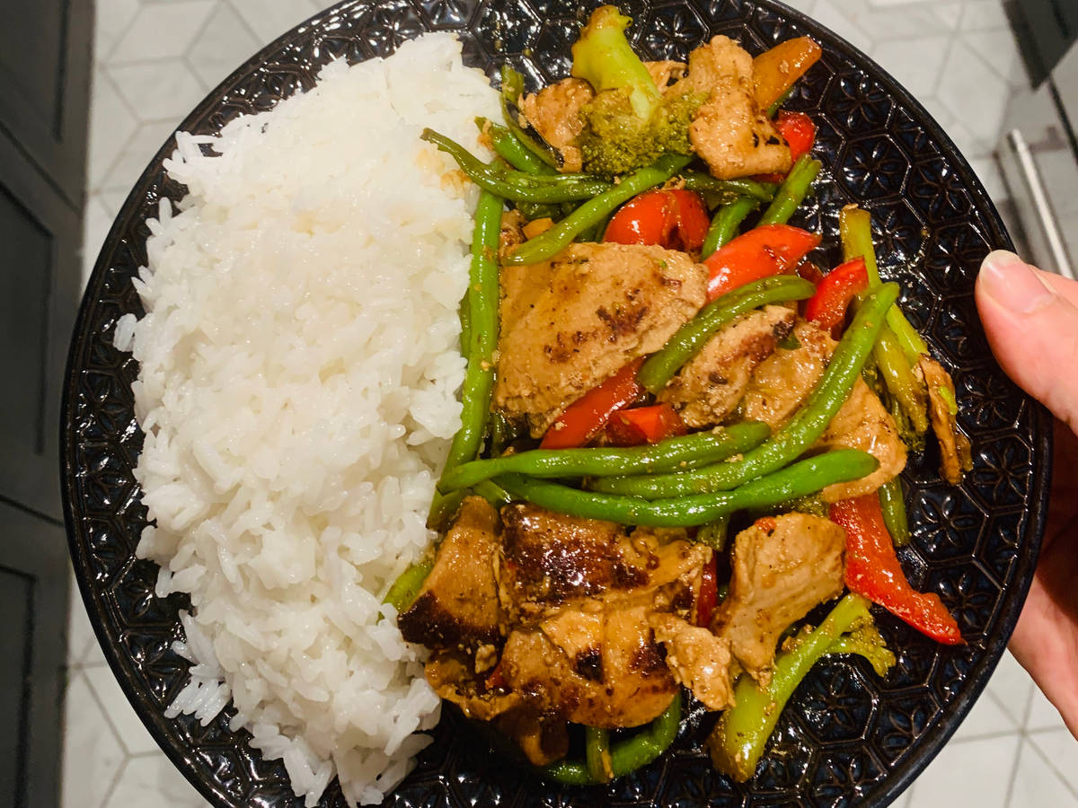 Beef and Vegetable With Stir Fry Sauce
