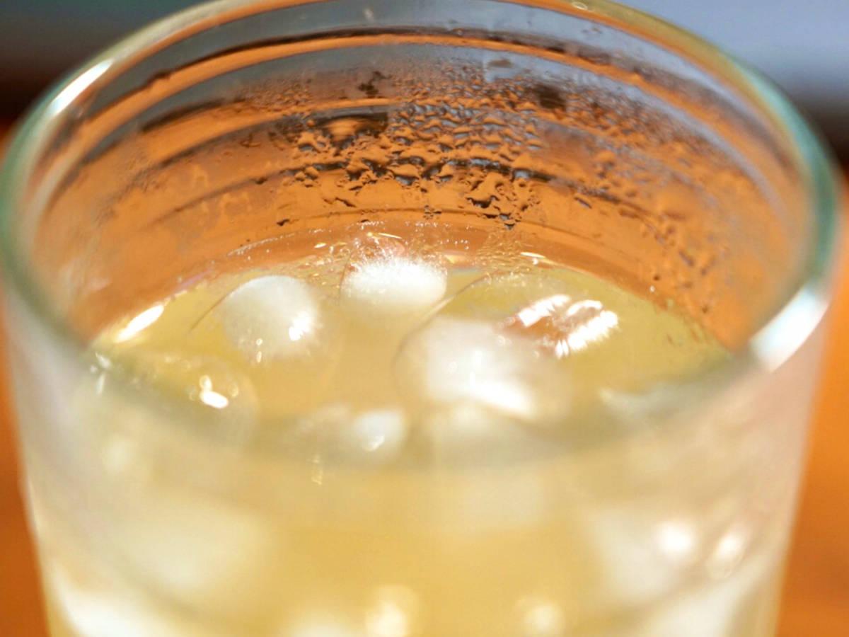 Boozy No-Alcohol Grapefruit Drink