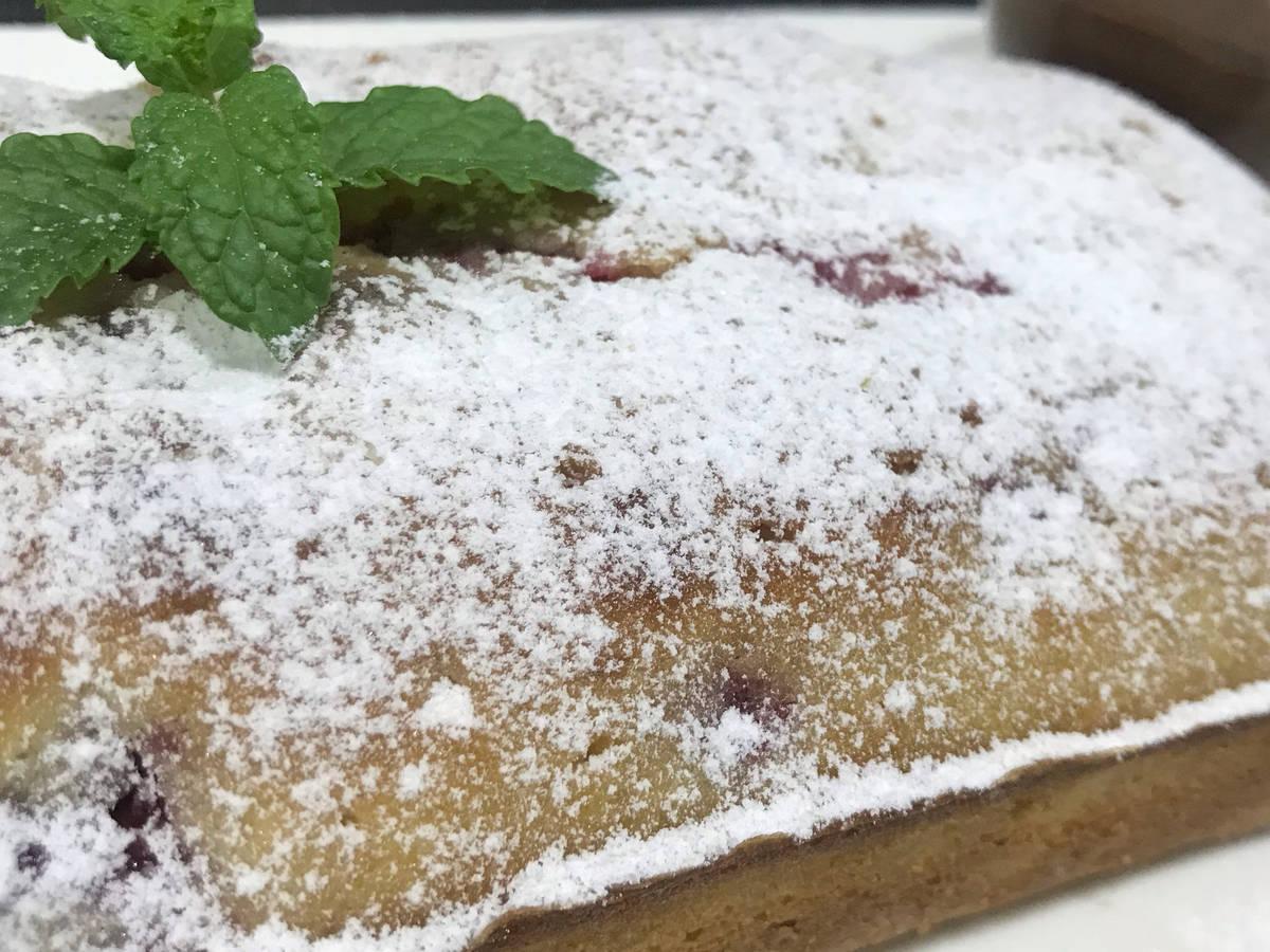 Red Berry Lemon Cake