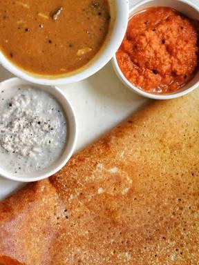 Indian Breakfast - Masala Dosa