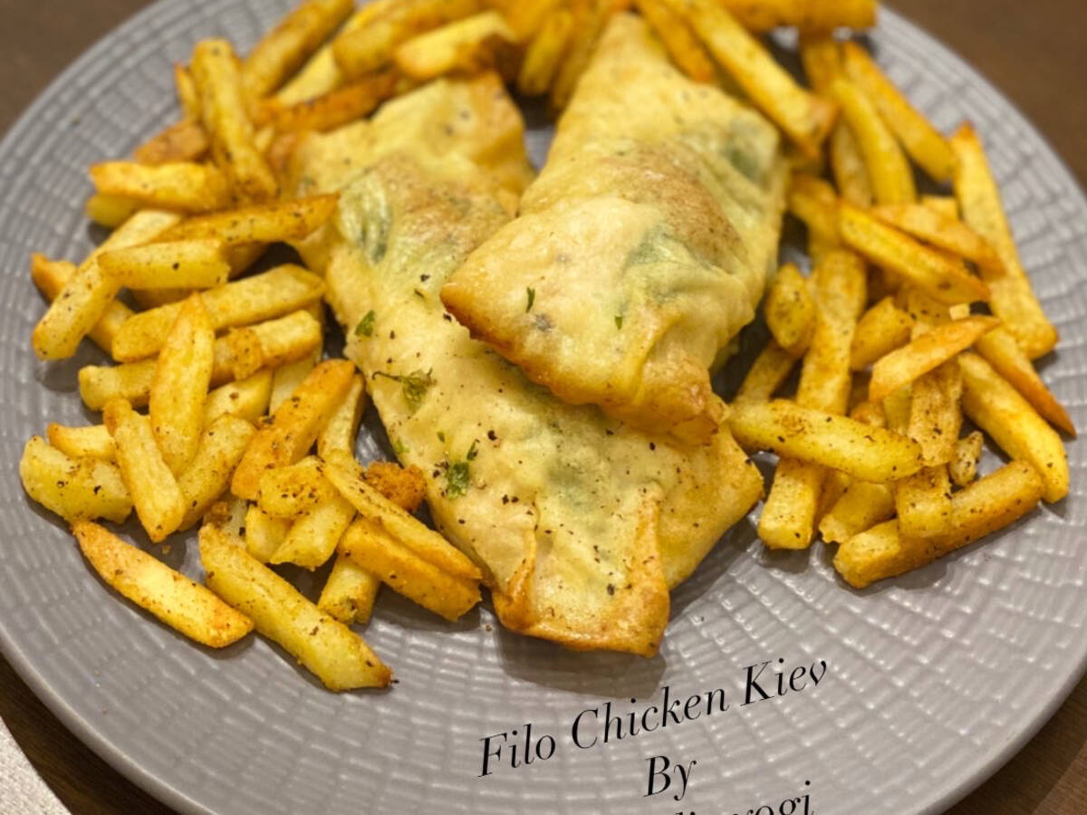 Filo Chicken Kiev