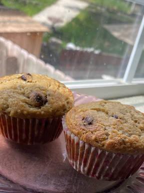 Banana Hempseed Muffins