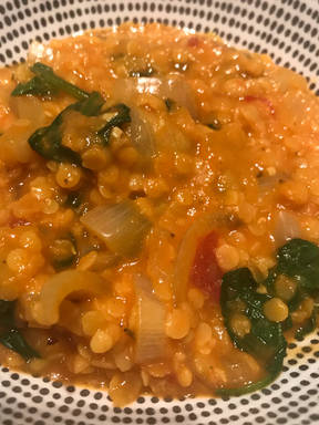 Easy dhal