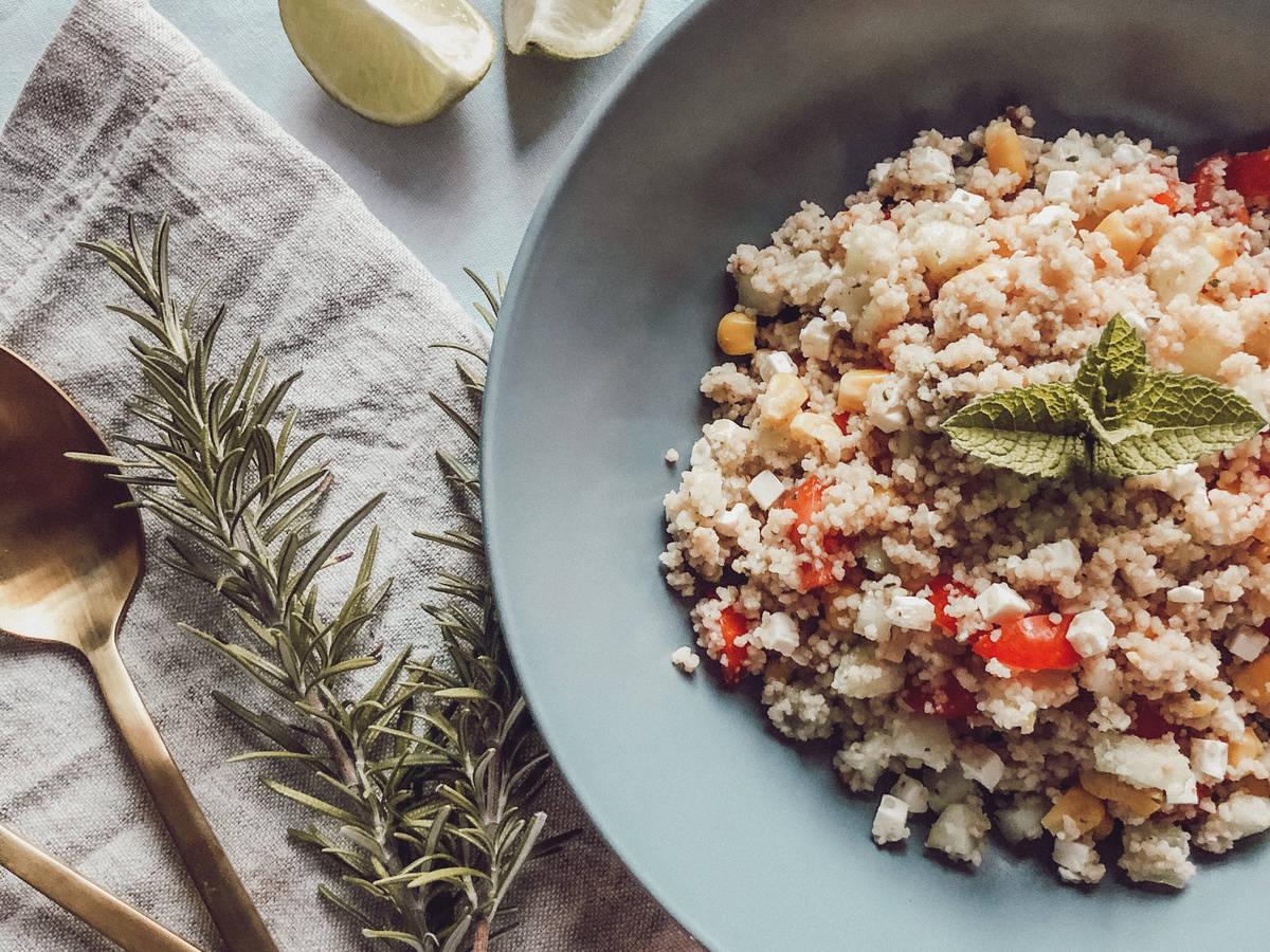 Summery couscous salad
