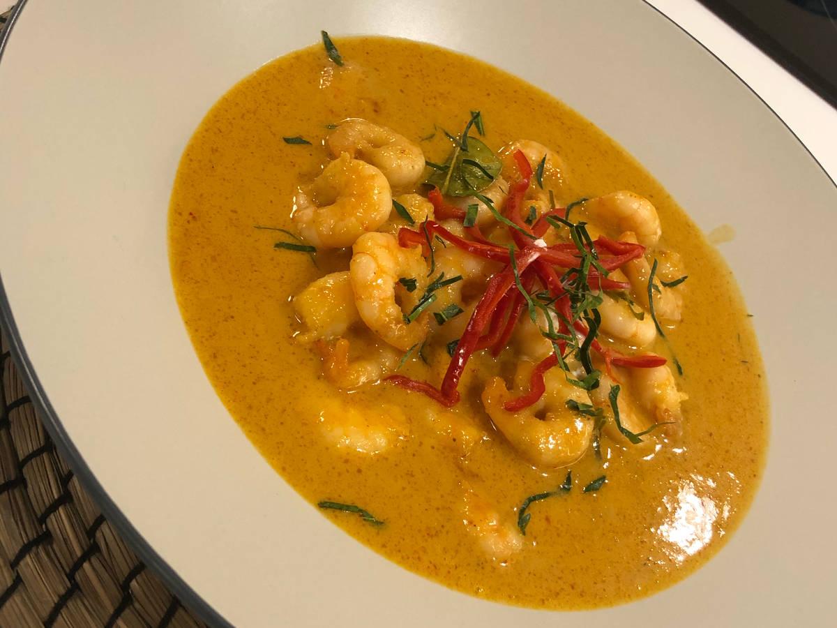 Penang Curry Prawn