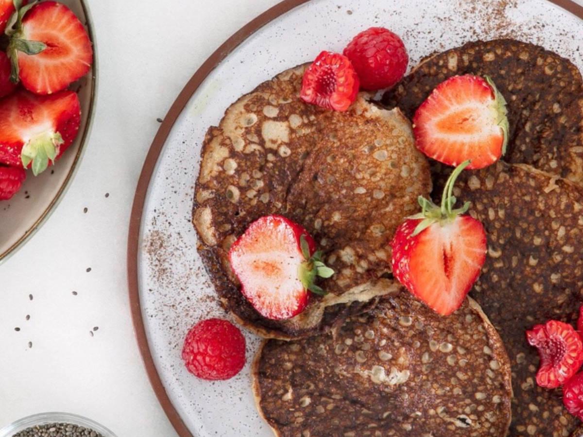 Banana & Chia Pancakes