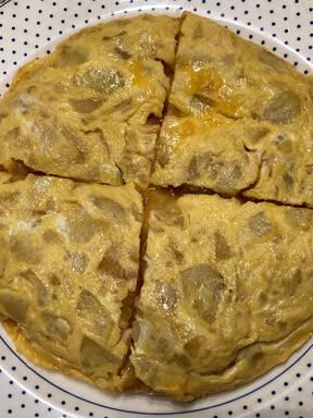 Spanish potato omelette / Tortilla de patatas