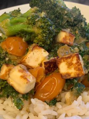 Paneer & Broccoli Curry