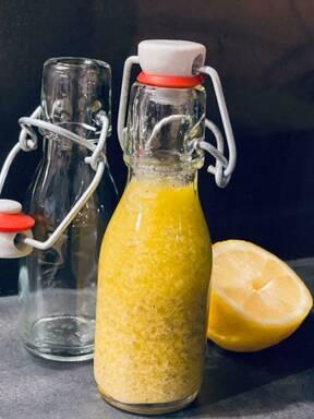 Zitronen-Pfeffer-Vinaigrette