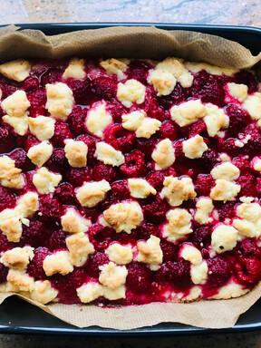 Himbeer-Streusel- Kuchen
