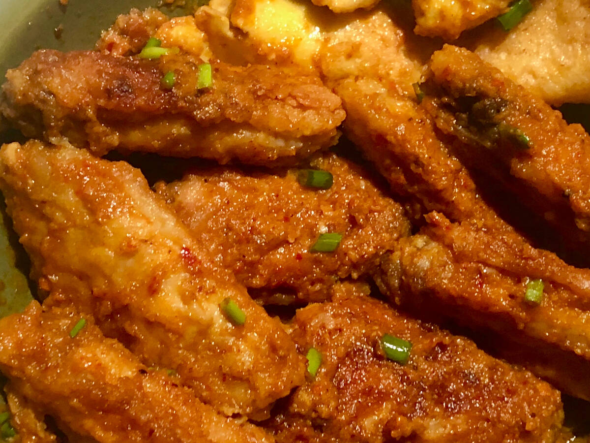 Sun-dried Tomato Buffalo Wings