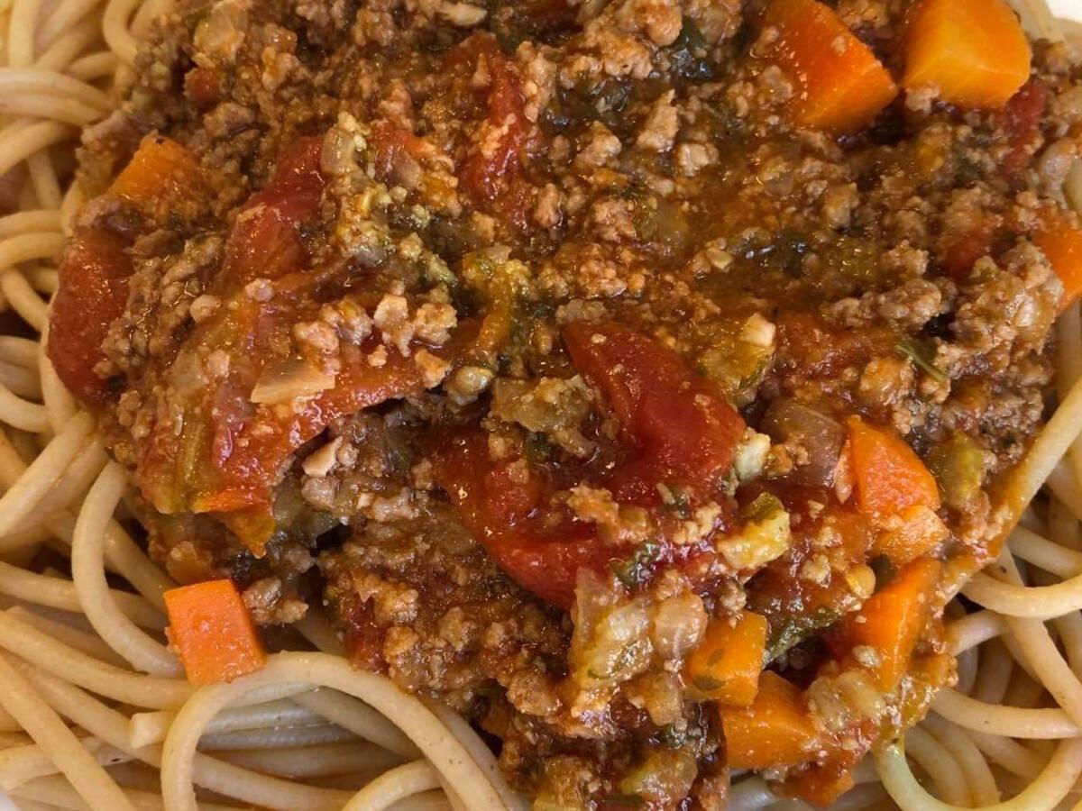 Spaghetti Bolognaise Instant Pot