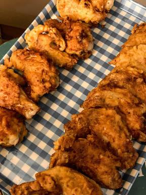 Mum's special fried chicken