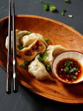 Chicken dumplings