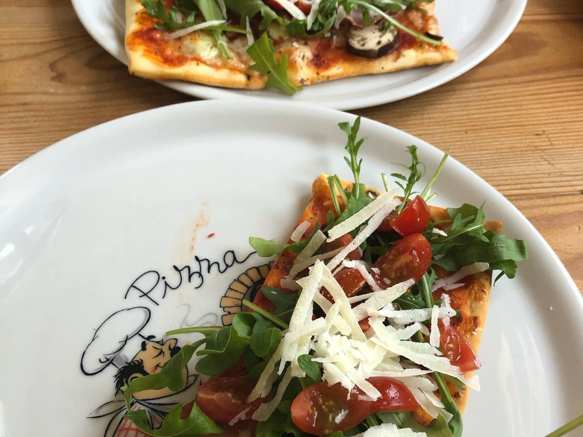 Pizza Parma Rucola