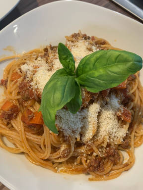 Spaghetti Bolognese extra