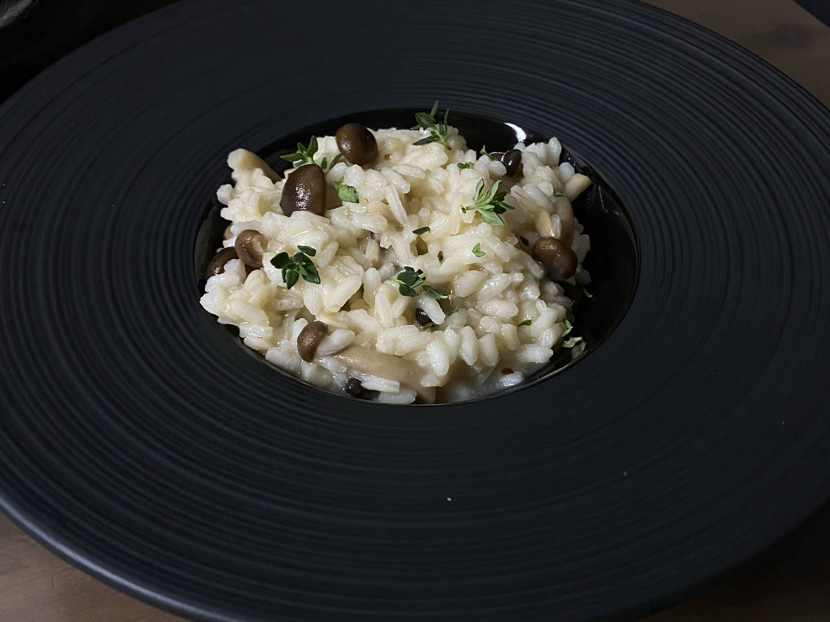 My Italian Mushrooms Risotto
