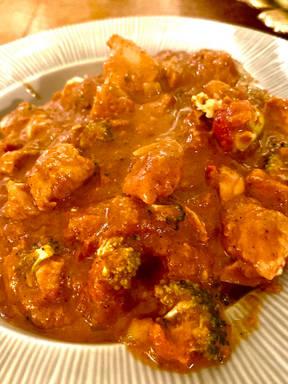 Soas indian chicken