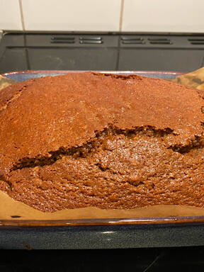Sweet and Spicy Treacle Ginger Cake