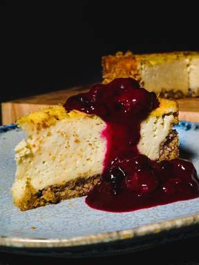 American Cheesecake (vegan)