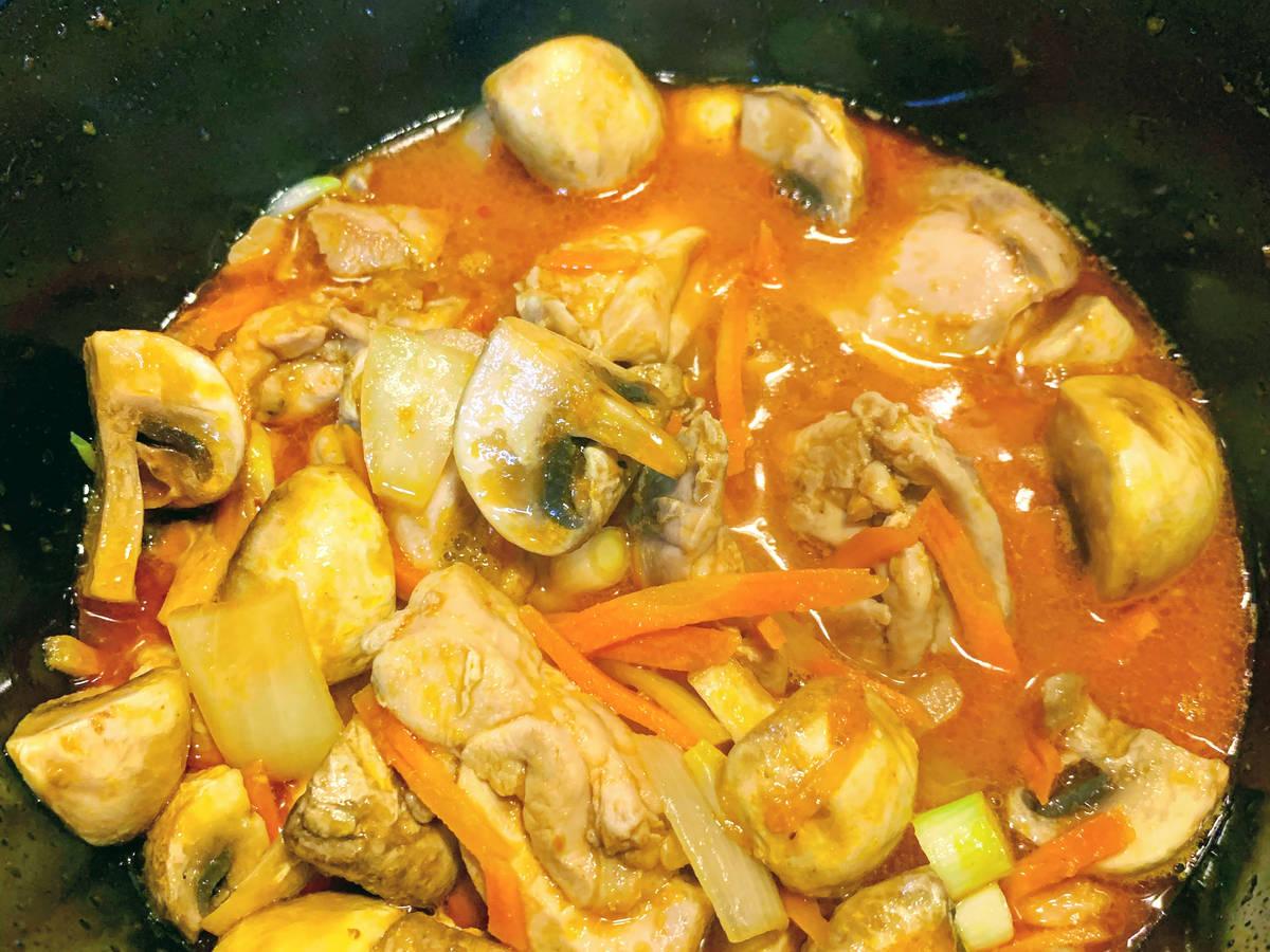 Thai chicken & mushroom
