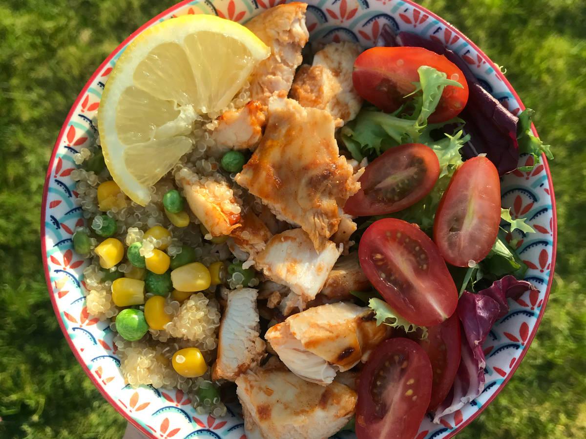 Nandos Chicken Quinoa Bowl