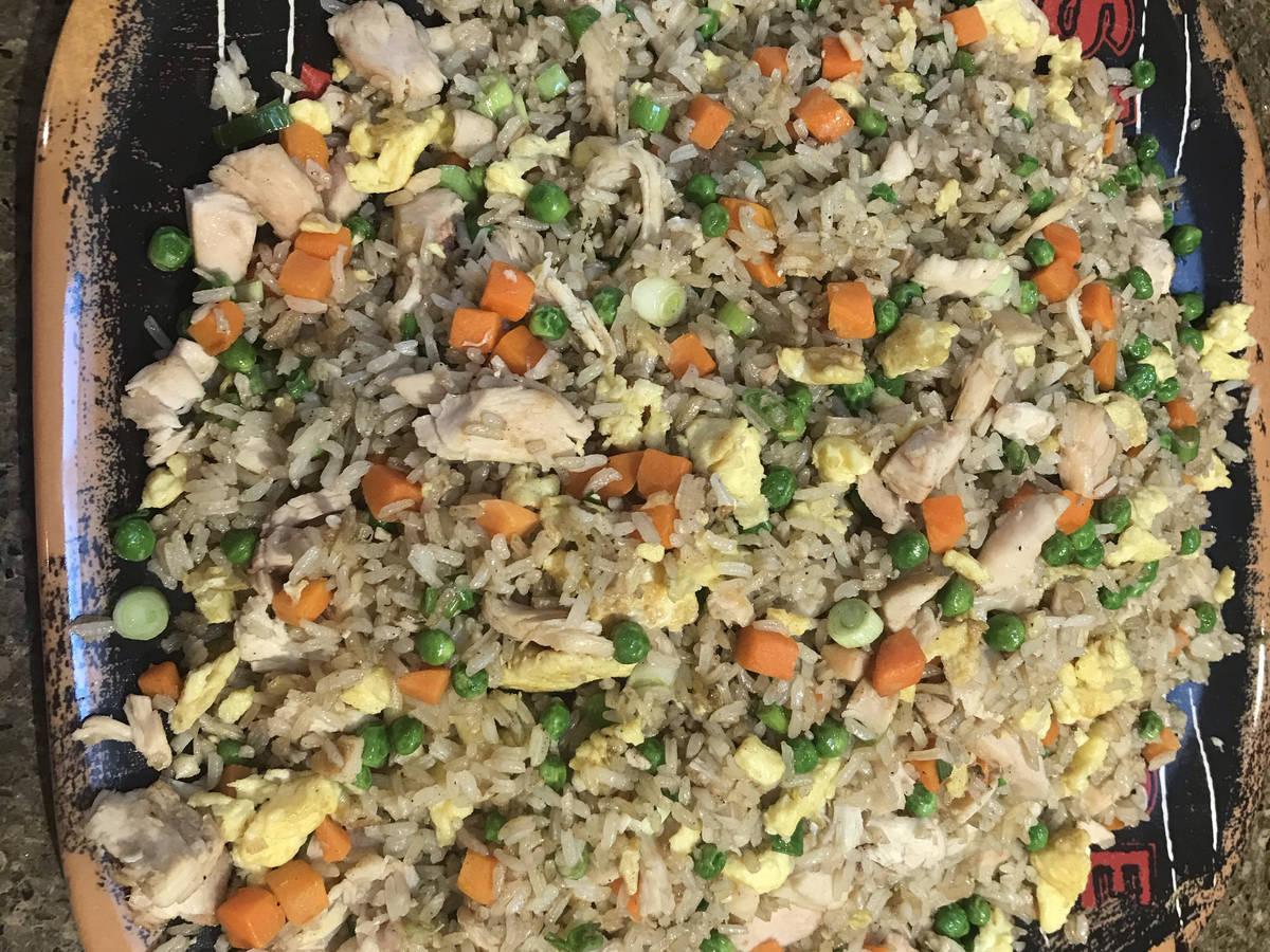 Chicken Fries Rice