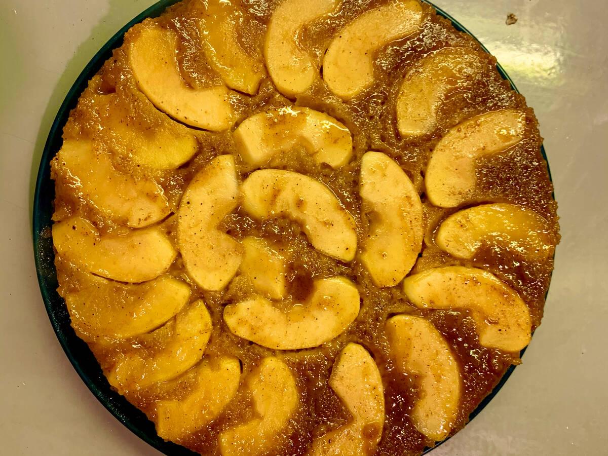 Apple Cake ( upside down)