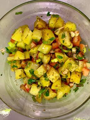 Potato Salad ( middle eastern)