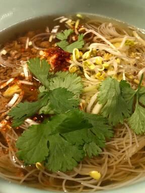 Vietnamesische Pho Suppe vegetarisch