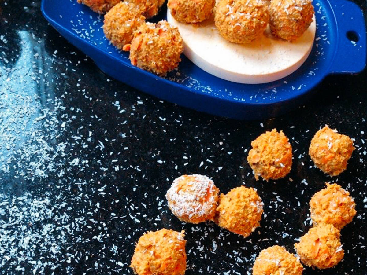 Clean Eating: carrot energy balls