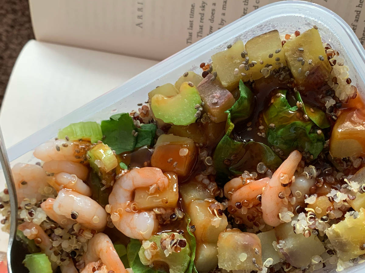Quinoa Shrimp Salad