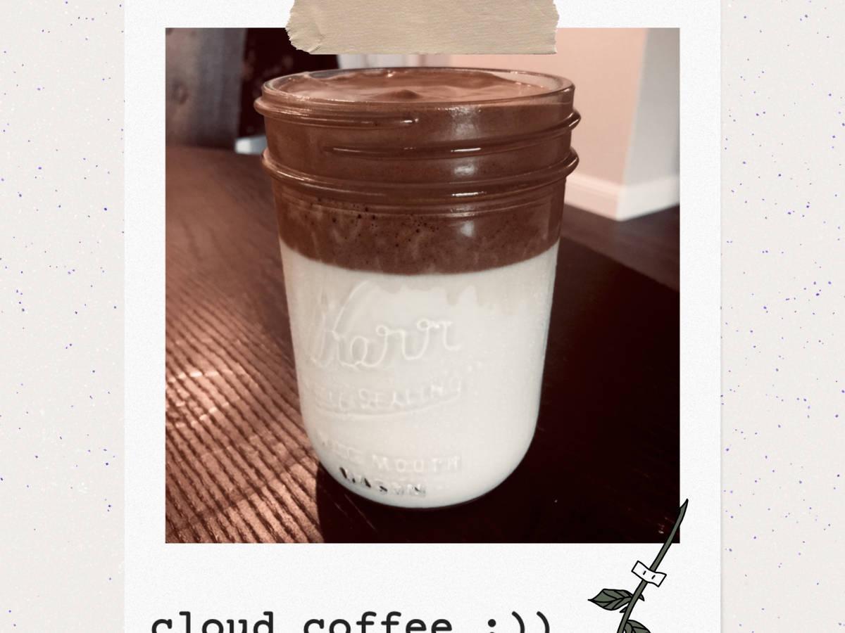 cloud coffee :))