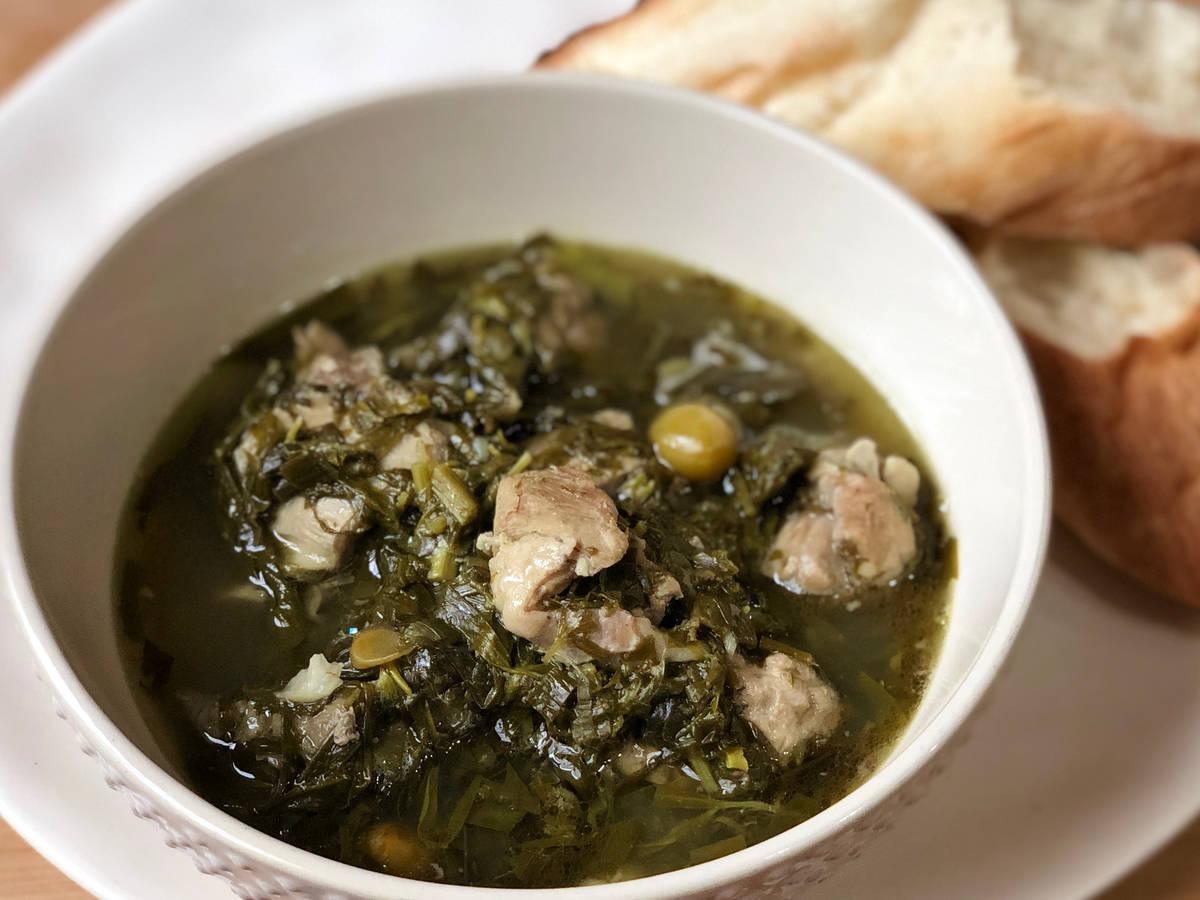 Stewed Lamb Chaqapuli