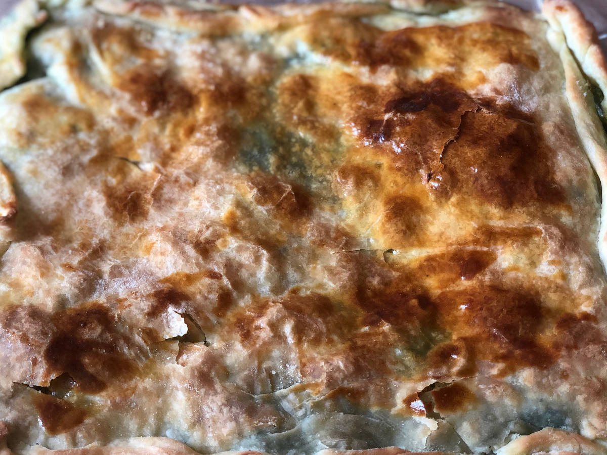 Tarragon pie