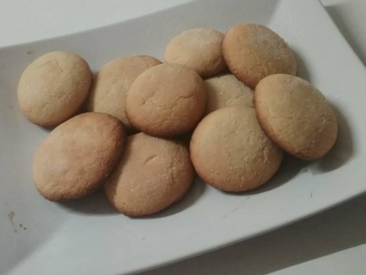 Sugared Lemon Cookies