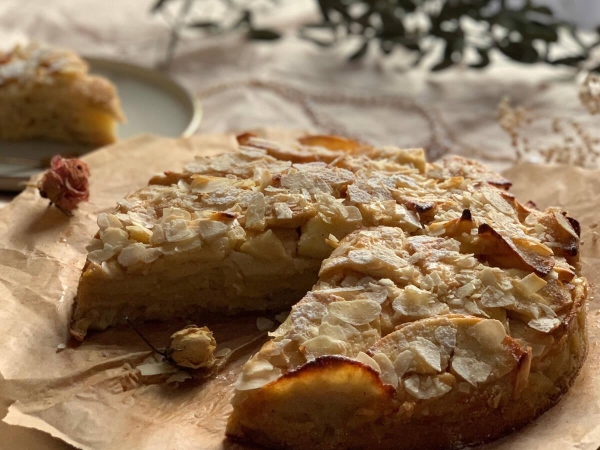 """Invisible"" Italian Apple Pie Recipe"