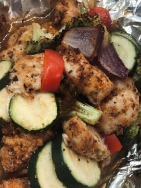 Spicy Chicken and Veg