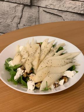Birnen Ziegenkäse Salat