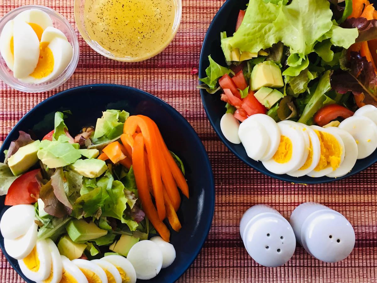 Fresh Veggie Garden Salad