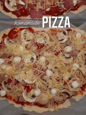 homemade Pizzateig