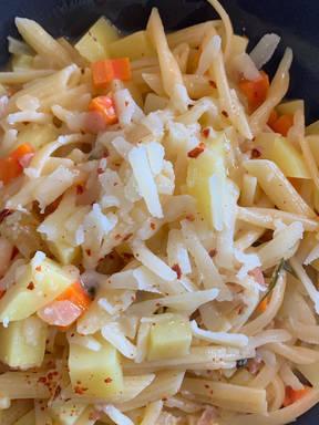 Pasta e Patate alla Napoletana (Nudeln mit Kartoffeln)