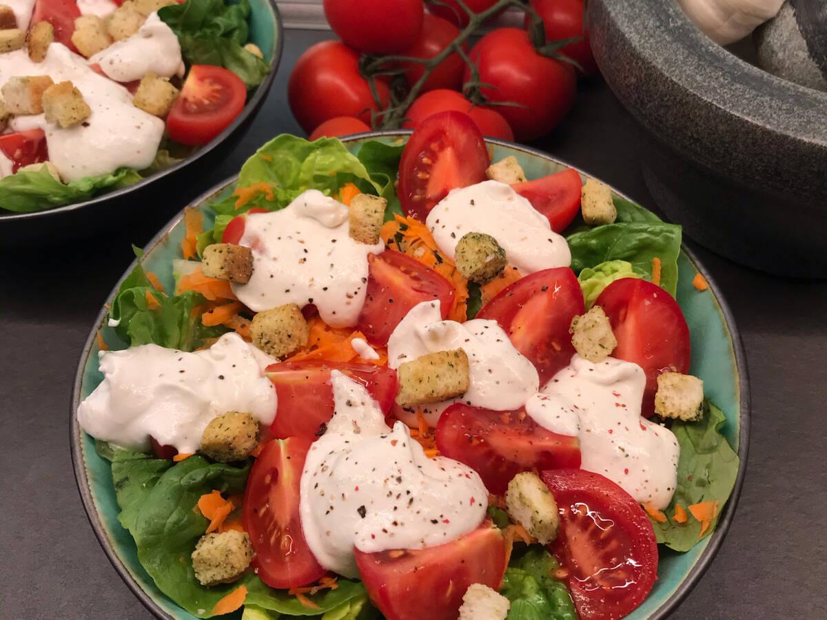Parmesan-Salatcreme
