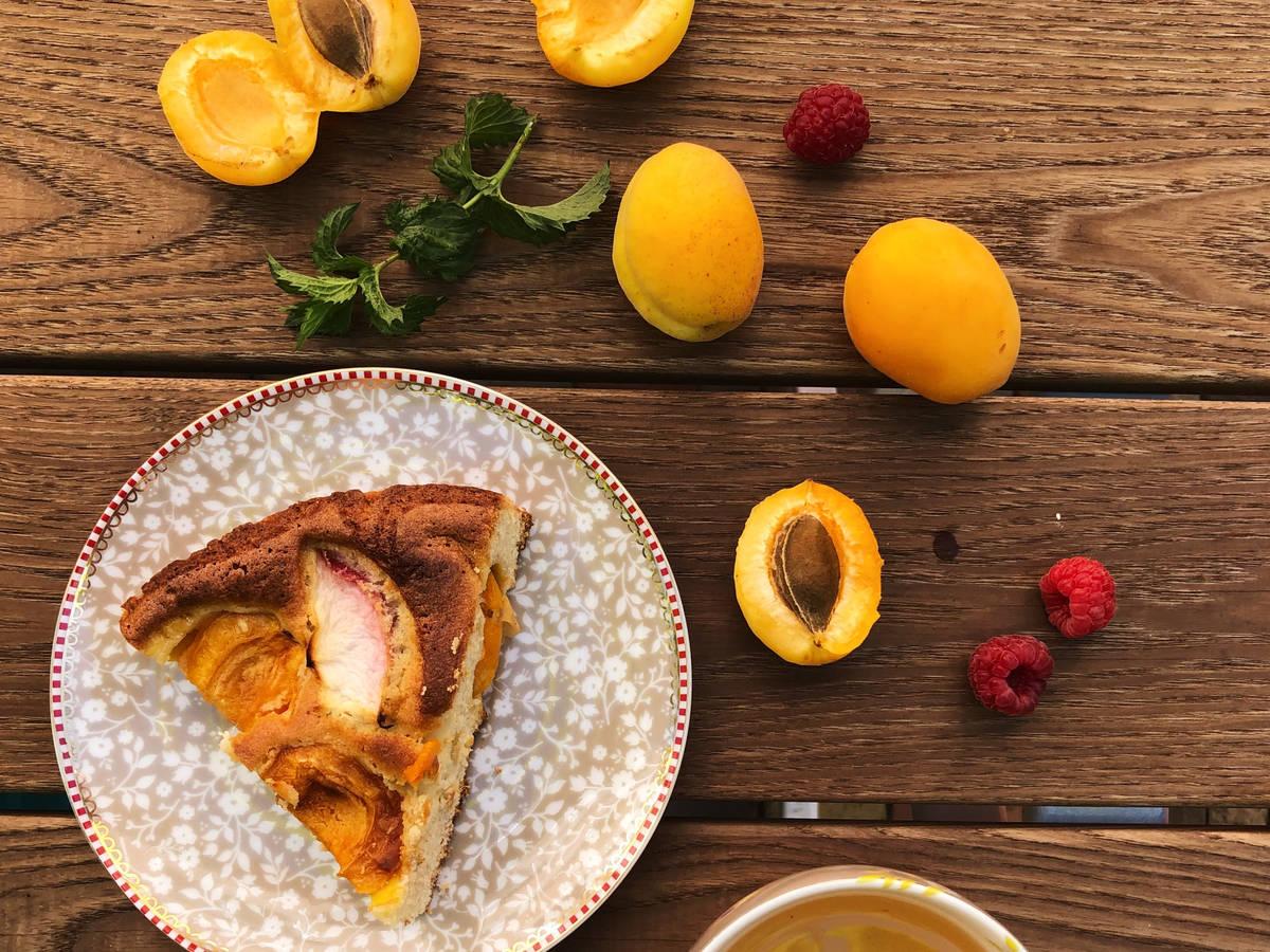 Apricot pie (gluten free)