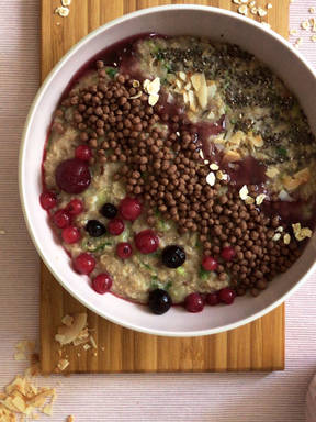 Zucchini-Porridge