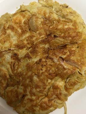 Spanish tortilla/tortilla de patatas