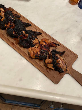 Scotty and dads nice grilled chicken