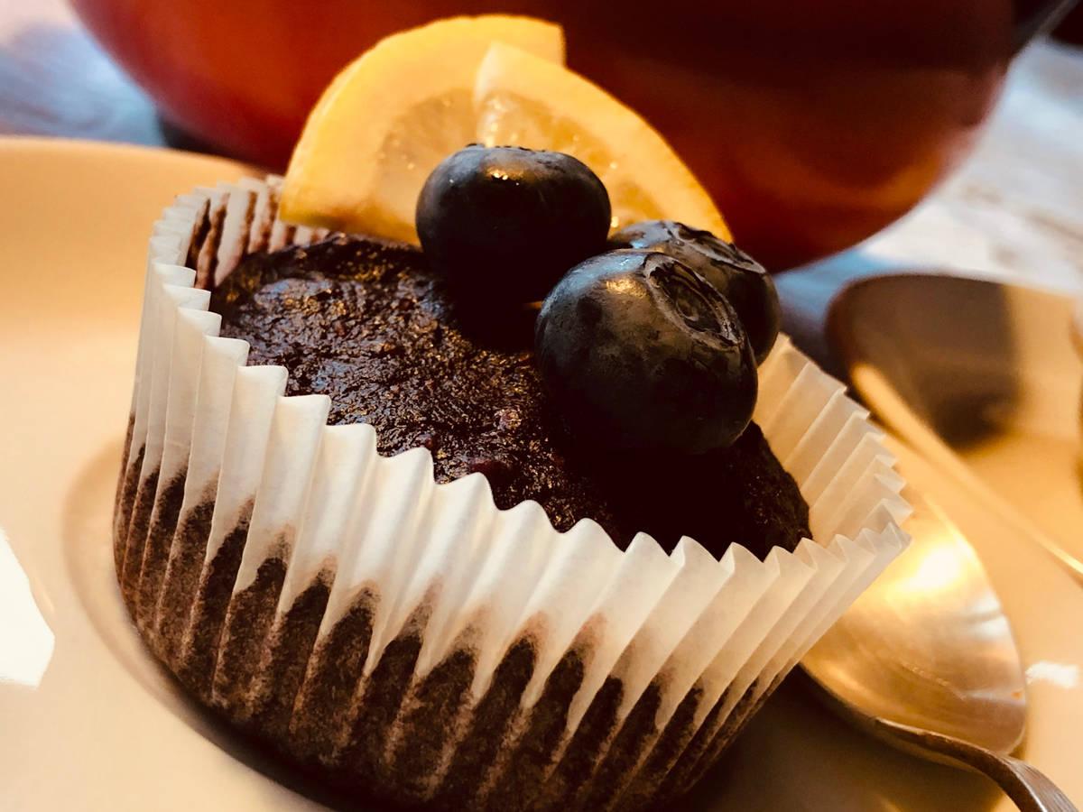 Vegan Beets cupcakes